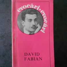 SIMION CUTISTEANU - DAVID FABIAN