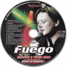 CD FUEGO – Muzica E Viața Mea (Live In Chișinău), original