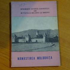 Manastirea Moldovita - Ed. Mitropoliei Moldovei si Sucevei Iasi 1965