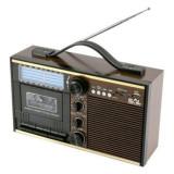 Cumpara ieftin Radio retro cu caseta, USB si SD, FM, AM, SW