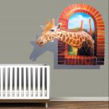 Cumpara ieftin Sticker Camera Copilului Girafa 120 x 100 cm
