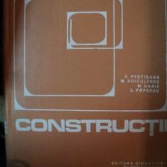 CONSTRUCTII CIVILE , INDUSTRIALE SI AGRICOLE de C-TIN. PESTISANU , M. VOICULESCU , M. DARIE , L. POPESCU , 1975