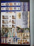 ROMANIA -  LOT 8 - serii + colite stampilate