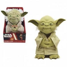 Mascota de plus Maestrul Yoda, 22 cm, sunete