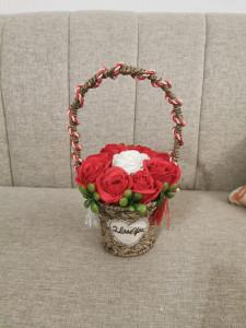 Aranjamente trandafiri săpun