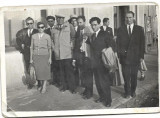 Fotografie Filarmonica Ploiesti la Buzau 1959 poza veche