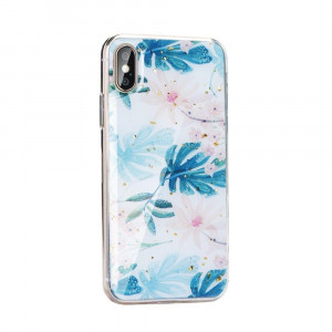 Carcasa Forcell Marble Samsung Galaxy S10 Palm Leaves