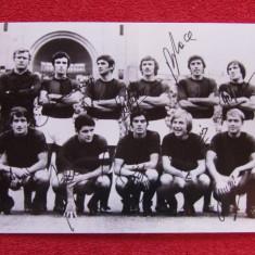 Foto (veche) - echipa de fotbal BOLOGNA FC (Italia sezonul 1971 - 1972)