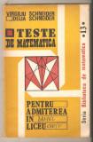 Teste de matematica-Virgiliu Schneider