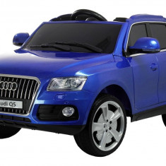 Masinuta electrica Audi Q5, albastru metalizat