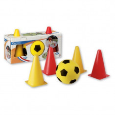 Set fotbal cu jaloane Androni Giocattoli, 5 piese