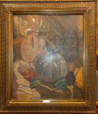 TABLOU, PUPEZESCU N. TUDOR, NATURA STATICA CU ULCIOR SI BOSTAN, U/C, 1933
