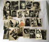 Lot 25  poze cu artisti  anii 60-80, colectie, Printata, Alta