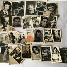 Lot 25  poze cu artisti  anii 60-80, colectie