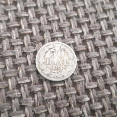 M. 50 bani 1884, argint