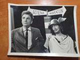 Fotografie originala film romanesc - grigore v. birlic si radu beligan