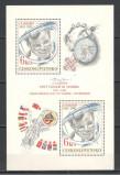 Cehoslovacia.1981 Cosmonautica:20 ani primul om in cosmos-Bl. XC.405, Nestampilat