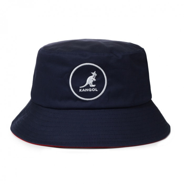 Palarie bleumarin Kangol Cotton Bucket (M,L,XL) - Cod 97353454365