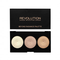 Paleta iluminatoare MAKEUP REVOLUTION 3 Radiant Lights Highlighter Palette Beyond Radiance 15g
