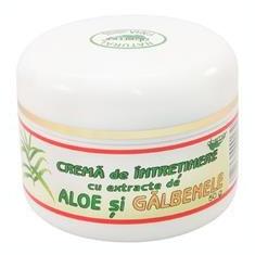 Crema Intretinere Aloe si Galbenele Abemar Med 50ml Cod: ABEM.00000