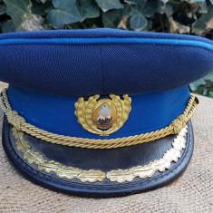 Cascheta de ofiter de securitate, parada, din perioada RSR