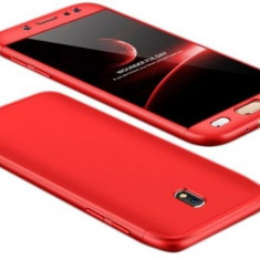 Husa Samsung Galaxy J7 2017, FullBody Elegance Luxury Red, acoperire completa...