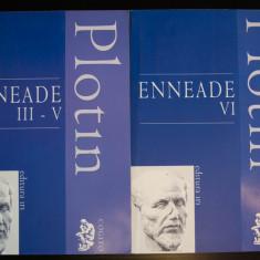 Plotin - Enneade (III-V + VI - 2 volume; ediție bilingvă)