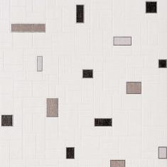 Tapet alb cu finisaj metalic evidentiat 584-20
