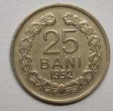 25 BANI 1952 . DETALII FRUMOASE ., Nichel