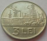 Moneda 3 LEI - RS ROMANIA, anul 1966 *cod 4622