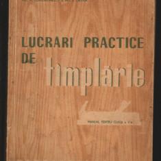 C8736 LUCRARI PRACTICE DE TAMPLARIE - V. CONSTANTINESCU, CRISTEA