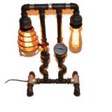 lampa telefon steampunkdesigncj, lampa steampunk, corp de iluminat