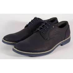 Pantofi barbati/barbatesti office bleumarin (cod 064073)
