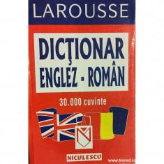 Dictionar englez-roman 30.000 cuvinte