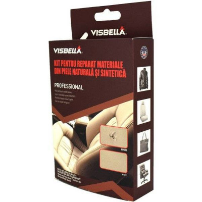 Kit reparatie tapiterie piele scaune auto Visbella foto