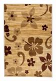 Cumpara ieftin Covor Floral Penn, Bej, 100x150 cm, Decorino