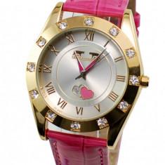 Ceas dama sic, elegant MATTEO FERARI, design italian Crystal Shine - MF146ROZ