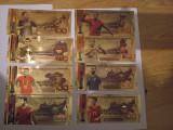 Bacnote cadou de colectie Cupa Mondiala Rusiaset 8/buc, Europa, General
