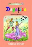 Degetica - carte de colorat