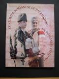 Costumul romanesc de patrimoniu. Portul popular din Romania