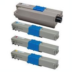 Set 4 cartuse toner OKI C301 OKI 321 compatibile