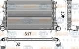 Radiator intercooler VW PASSAT Variant (365) (2010 - 2014) HELLA 8ML 376 746-741