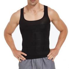 Maieu Modelator de Slabit Pentru Barbati, marimea XL, Negru