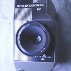 camera veche f. rara mecanica film 16 mm Krasnogorsk functionala 16mm