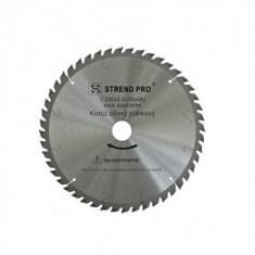 Disc circular pentru lemn Strend Pro NWS, 160x2.5x20mm, z48