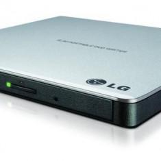 Unitate optica hitachi-lg dvd+/-rw 8x gp57es40 extern usb2.0 slim silver.