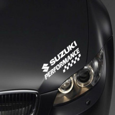 Sticker auto Performance - SUZUKI