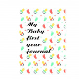 Bullet journal baby 1 year teat