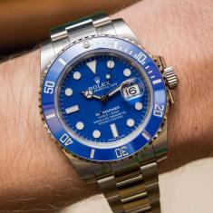 Ceas Automatic Luxury  Blue Edition Barbatesc, Mecanic-Automatic