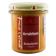 Crema Bio Tartinabila Arrabiata si Rosii Zwergenwiese 160gr Cod: zw1266